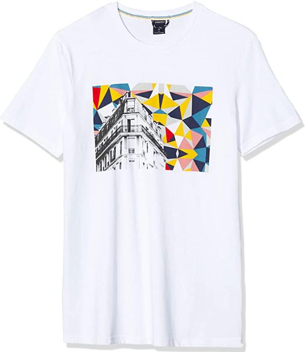 100% ALGODON Camiseta para Hombre t:S
