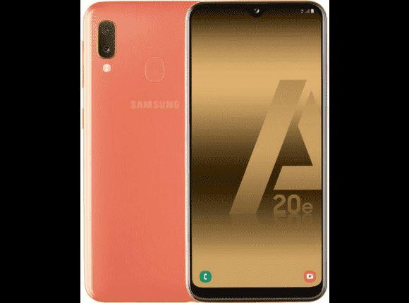 Móvil Samsung Galaxy A20e solo 131,4€