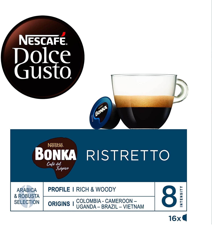 Cápsulas de café Dolce Gusto Ristretto 16 unidades (PANTRY)
