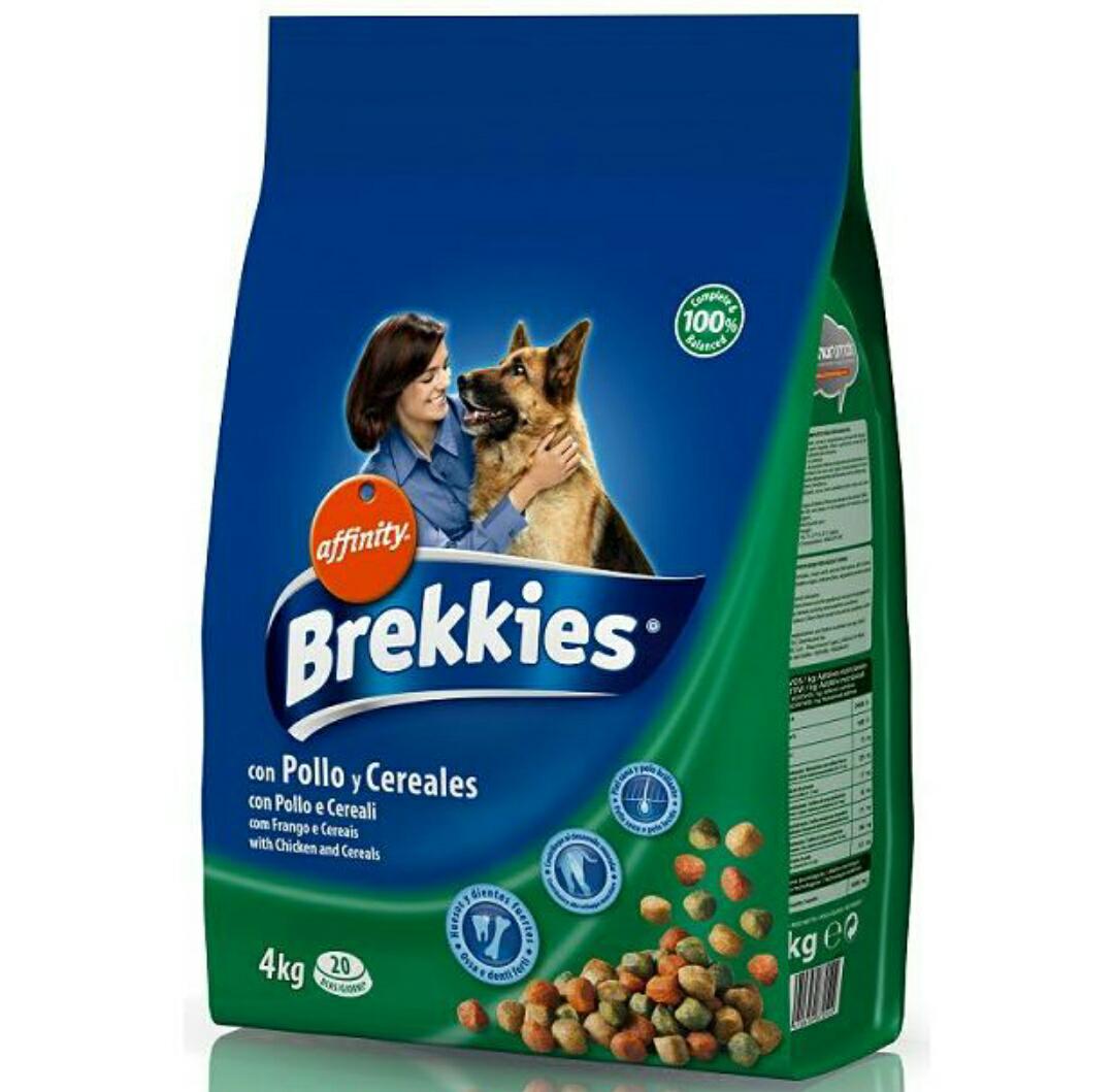Brekkies Dog - Pollo Y Cereales 4 Kg