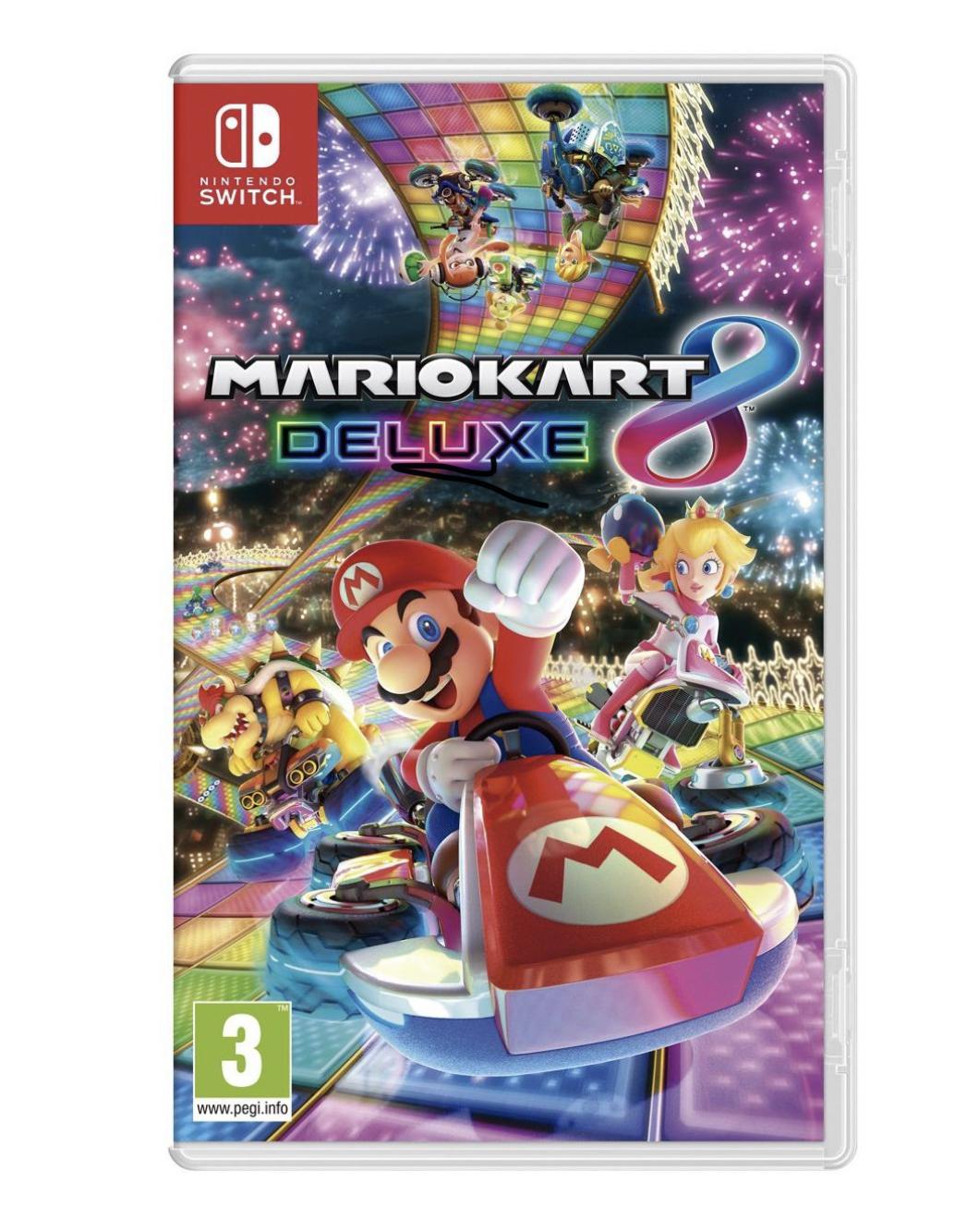 MARIO KART 8 DELUXE. Nintendo Switch