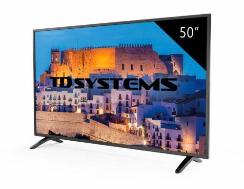 "TELEVISOR LED FULL HD 50""  TD Systems K50DLM8F"
