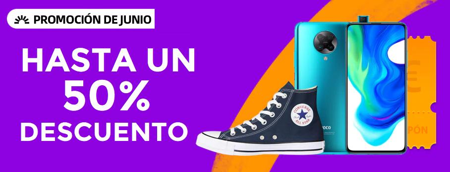 Preciazos + cupones promoción 15 Junio Aliexpress