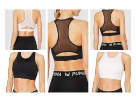 PUMA Studio Porcelain Bra - Sujetador Deportivo Mujer 2 colores todas las tallas.