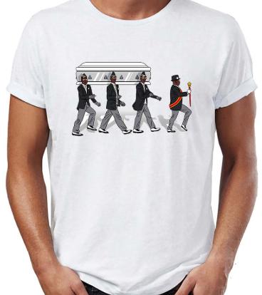 Camiseta negros del ataúd y casa de papel (talla xs) - muchos más diseños por -3€