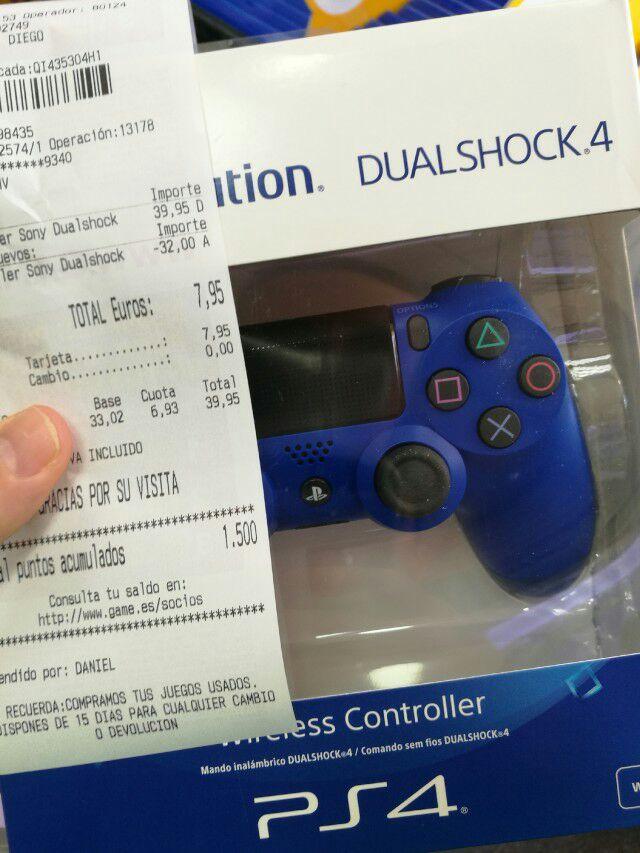 Renueva tu DualShock 4 por 8€