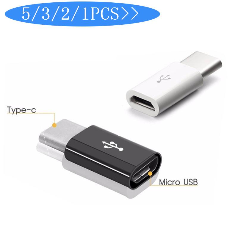 5 Adaptadores de micro usb a Tipo C, para aprovechar los cables que hay en casa