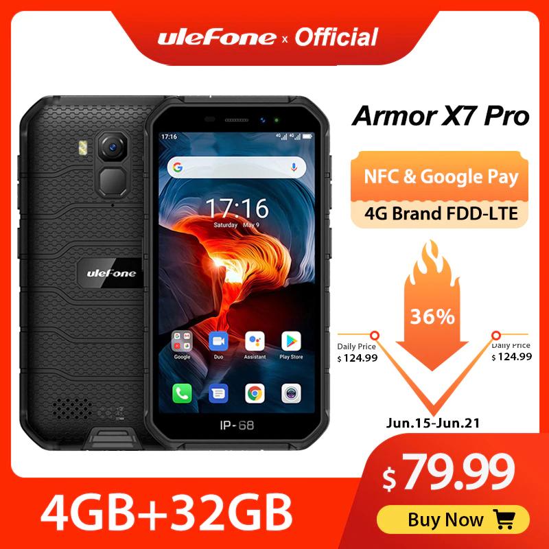 ULEFONE X7 PRO 4GB/32GB NFC IP68