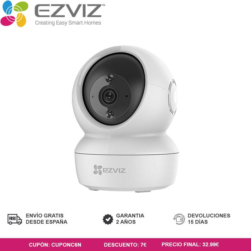 Cámara de seguridad Ezviz C6N a 29,99 desde Plaza - España