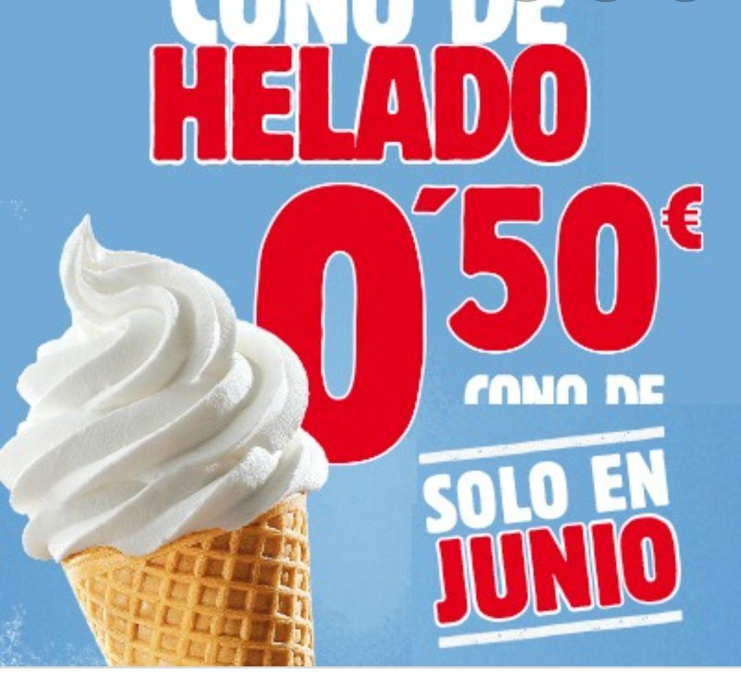 Cono Helado y Cafés a sólo 0'50€ y más cupones