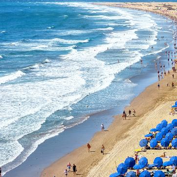 Gran Canaria 7 noches en hostal con ida y vuelta desde Madrid solo 171€