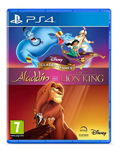 Juego de aladdin y el rey león para ps4
