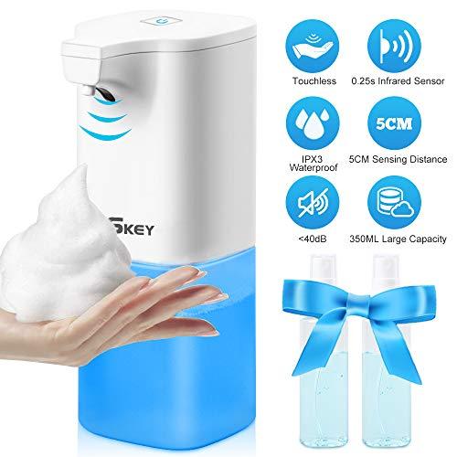 Dispensador de jabón automático eléctrico, 350 ml