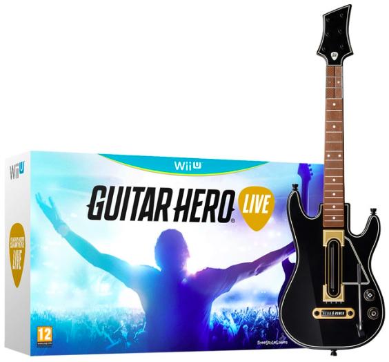 Guitar Hero Live + Guitarra Wii U