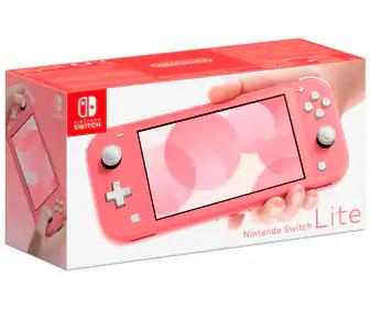 Consola Nintendo Switch Lite Coral rosa (AlCampo de Irún)