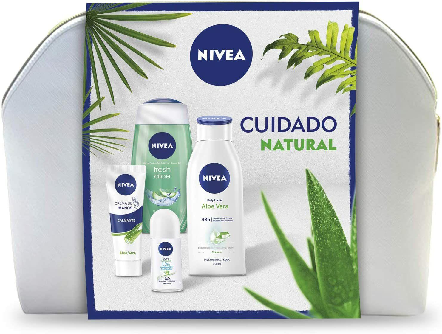 Neceser Nivea Cuidado Natural (Envío gratis con Prime)