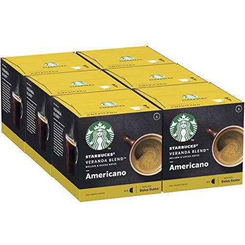 Recopilatorio de café Starbucks by Nescafé Dolce Gusto en Mínimos Históricos (6 cajas x 12unidades) Recurrente