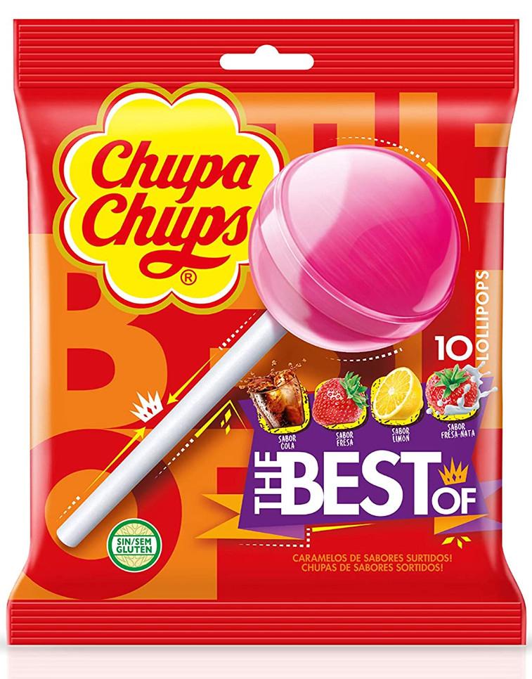 Chupa Chups Original Sabores (10 unidades)
