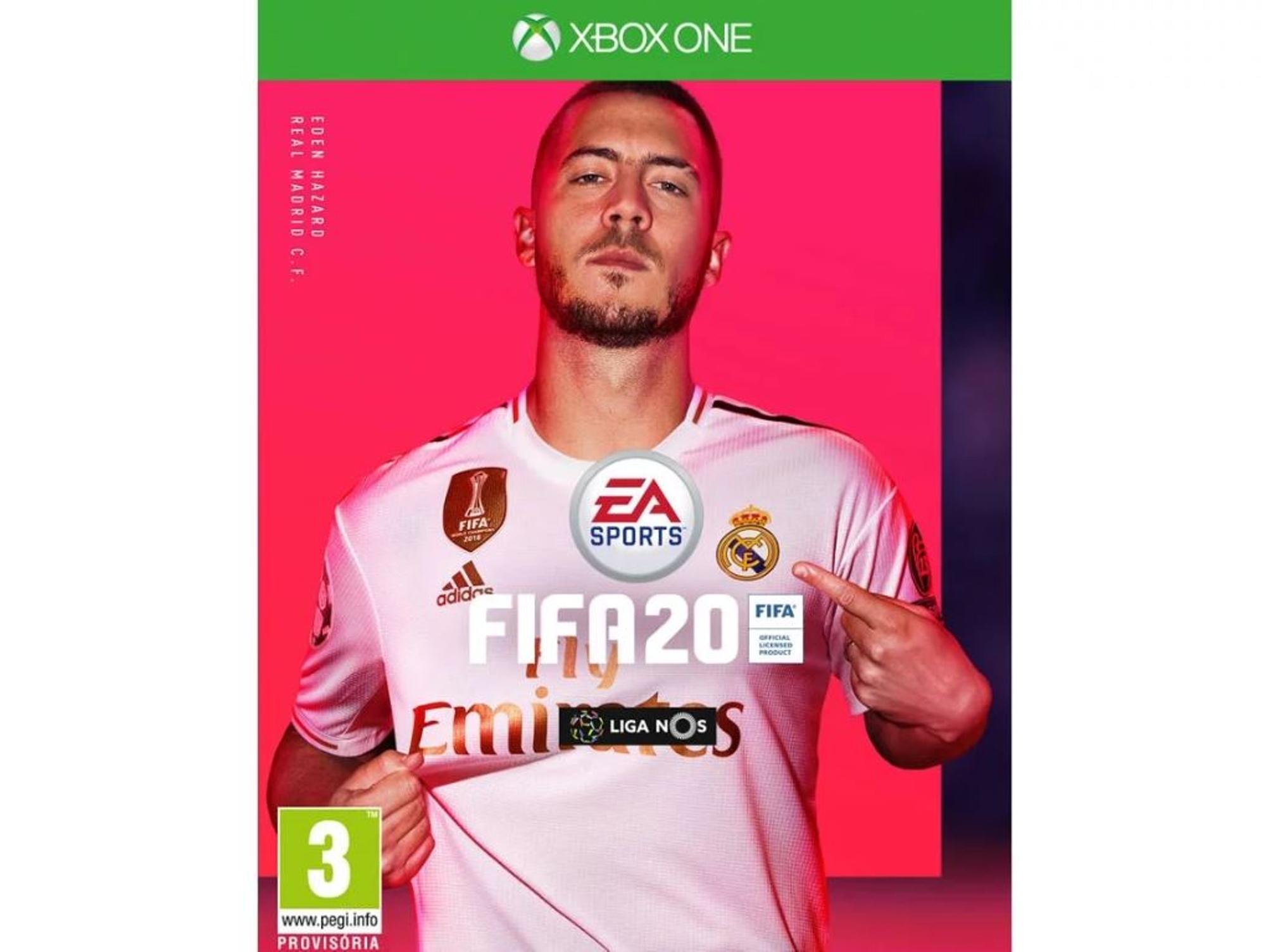 FIFA 20 para XBOX ONE FISICO