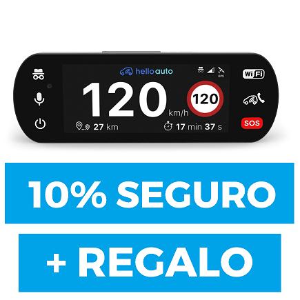 HelloAuto Connect GRATIS + 10% en tu seguro de coche actual