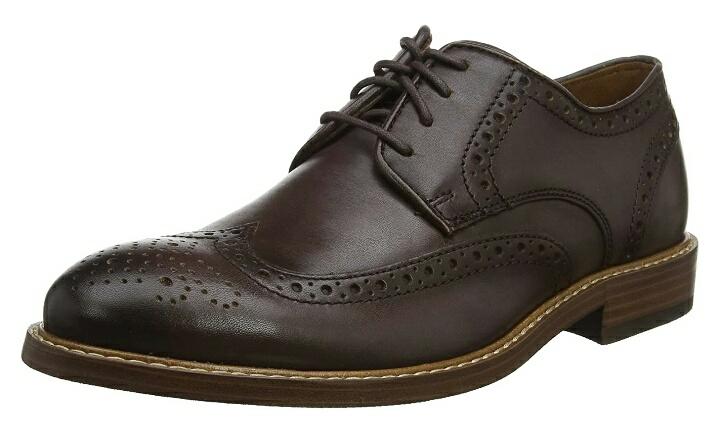 Rockport Kenton Wingtip, Zapatos de Cordones Brogue para Hombre
