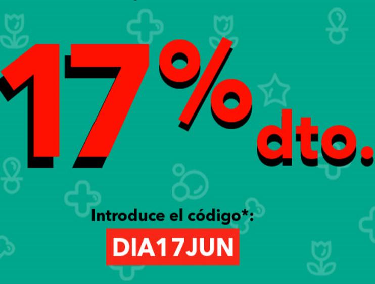 CLAREL: 17% de descuento en toda la web ( Domingo 17 de Junio)