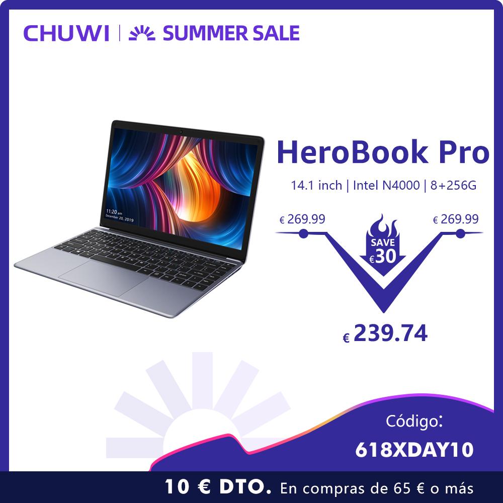 Nuevo CHUWI HeroBook Pro 14 SSD/IPS/8GB/FHD Desde España!