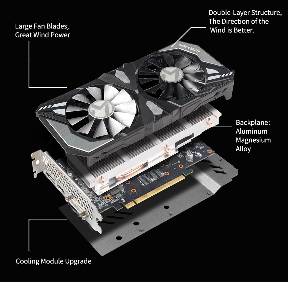 MAXSUN NVIDIA GeForce RTX 2060 (6GB)