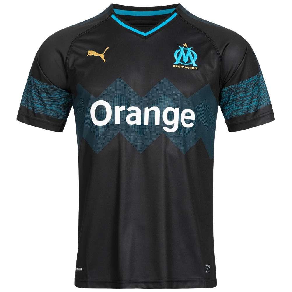 Olympique Marseille PUMA Camiseta de visitante para hombre( Talla XS)