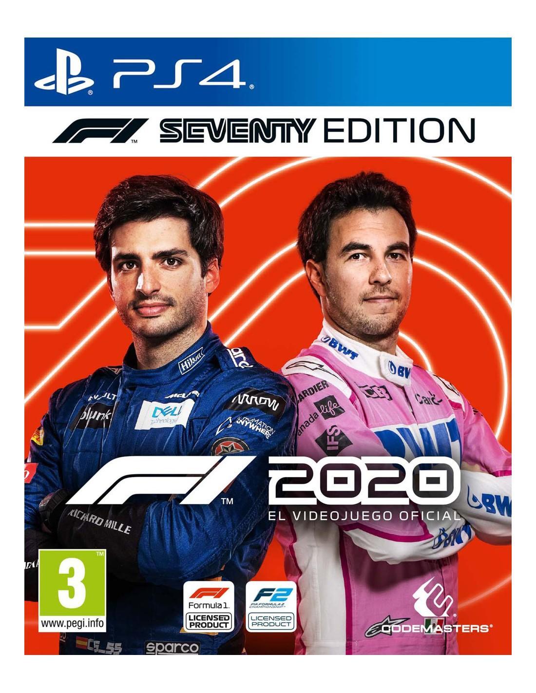 Formula 1 2020 Seventy Edition Ps4