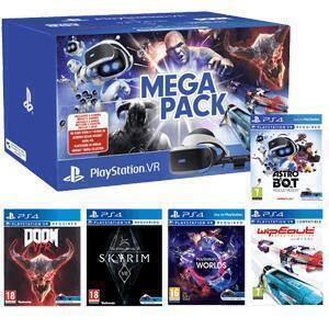 Megapack VR 2 :: Gafas Sony + 5 Juegos (PlayStation, AlCampo)