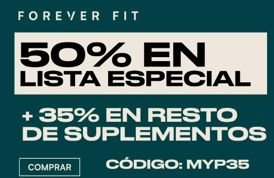 Ofertas Myprotein 50% y 35% en resto