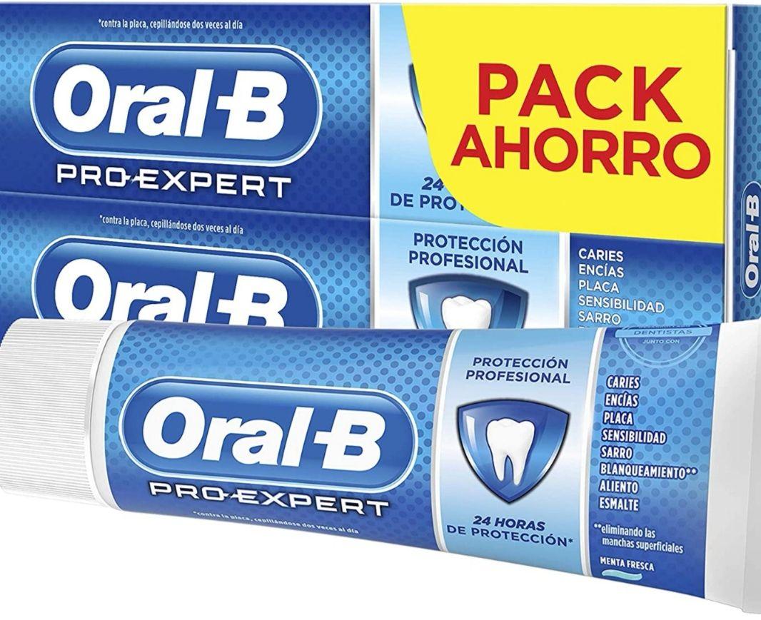 Oral-B Pro-Expert Protección Profesional Pasta Dentífrica (Pack de 2x75 ml)