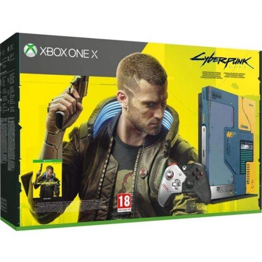 Xbox One X 1TB Cyberpunk 2077 Limited Edition + Cyberpunk 2077
