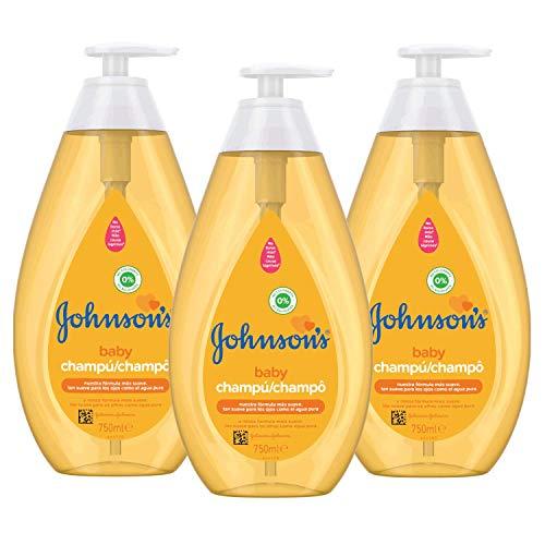 Johnson's Baby Champú Familiar Clásico, 750 ml - Lot de 3