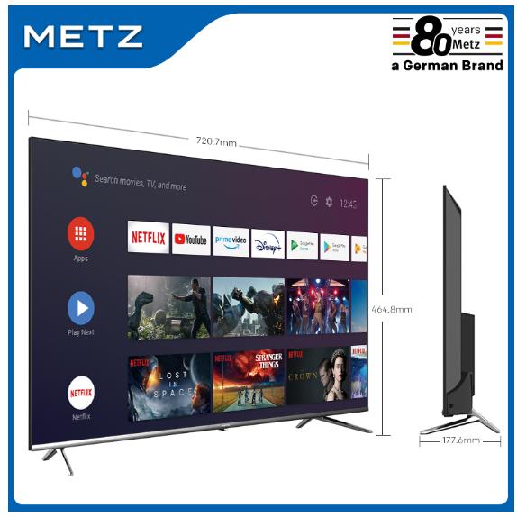 "SMART TV METZ 32"" MTB7000 ANDROID TV 9,0 (Desde España)"