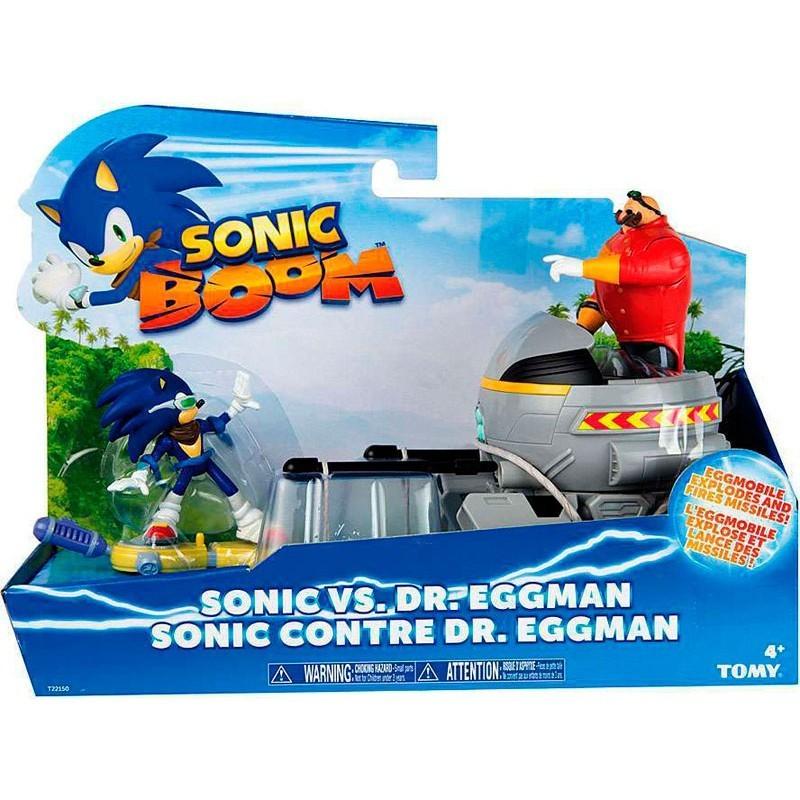 Pack de dos Figuras del videojuego Sonic Boom