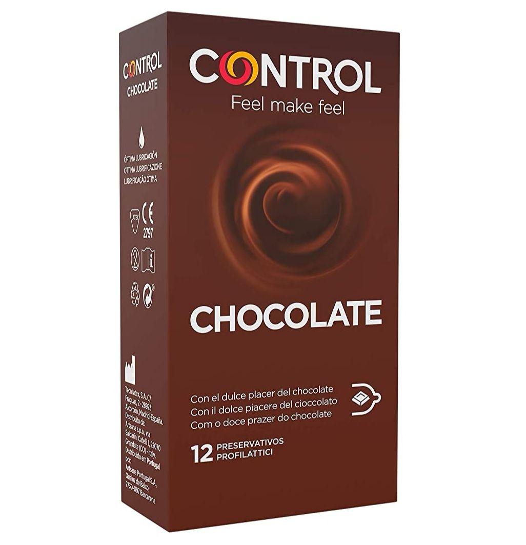Control Preservativos Chocolate 12 Uds (precio mínimo)