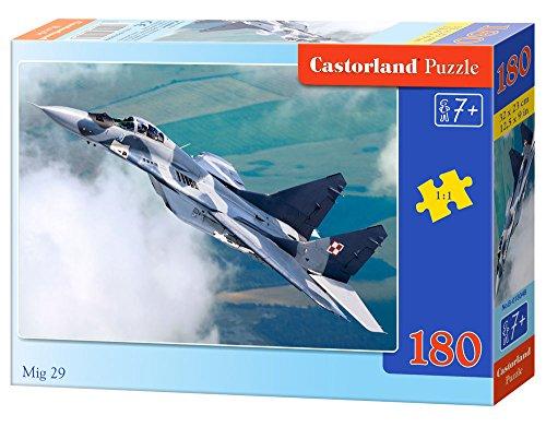 Castorland- Mig 29 Puzle 180 piezas