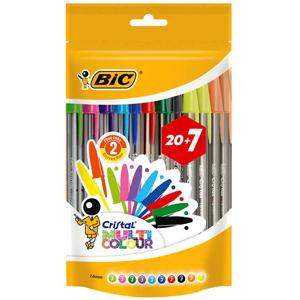 Lote de 27 bolígrafos BIC (AlCampo)