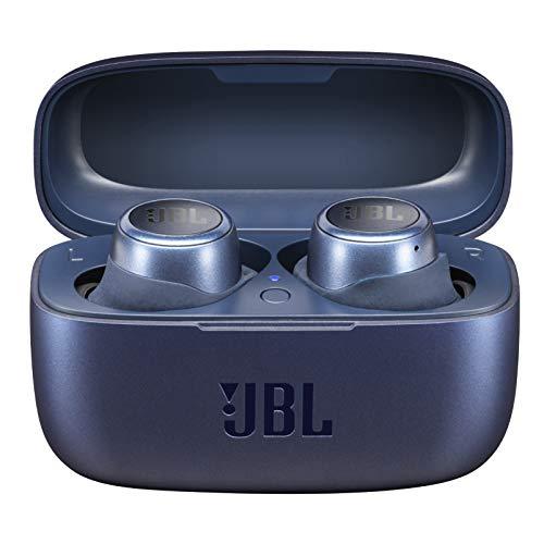 JBL LIVE 300TWS - Auriculares inalámbricos intraaurales, con Bluetooth y tecnologías TalkThru y AmbientAware, hasta 20h de música, Azul