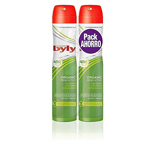 2 Unidades - Byly Organic Extra Fresh Desodorante Spray