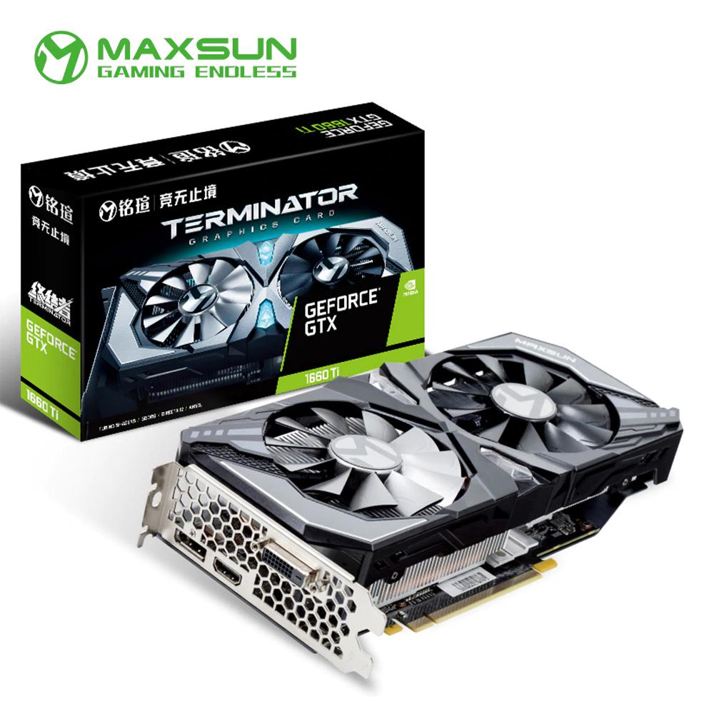 NVIDIA GeForce GTX 1660 Ti (Maxsun)