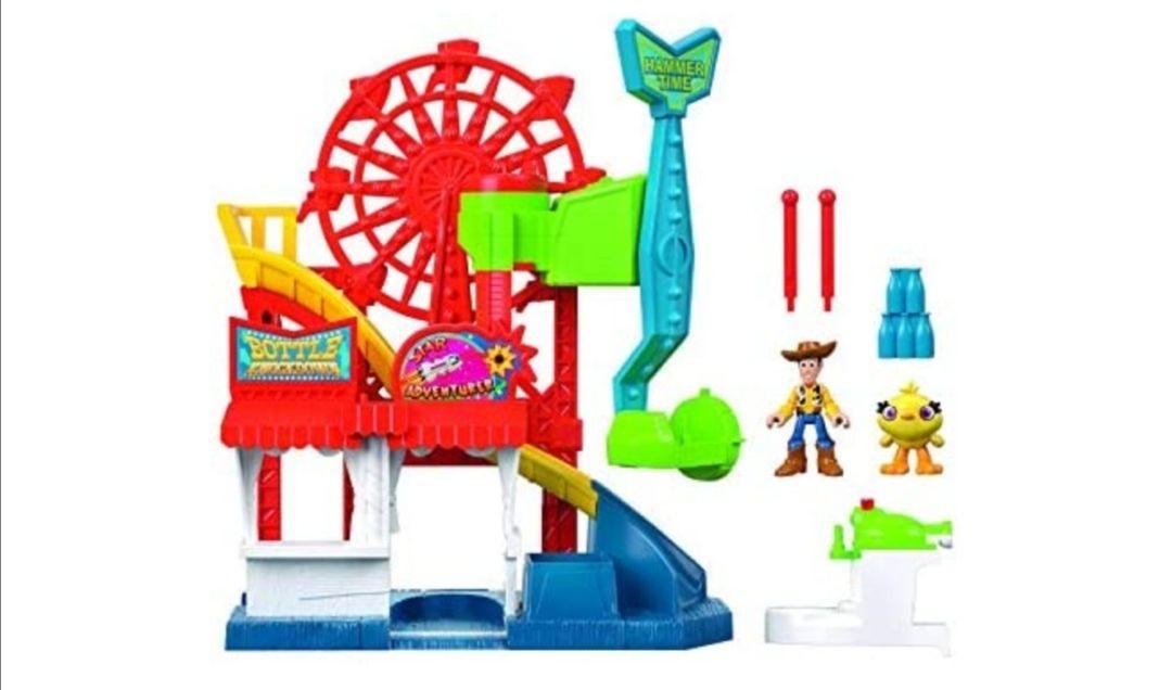 Mattel Imaginext Disney Toy Story 4 Vamos a La Feria