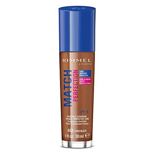 Rimmel London Base de Maquillaje Tono 603 Chocolate - 123 gr
