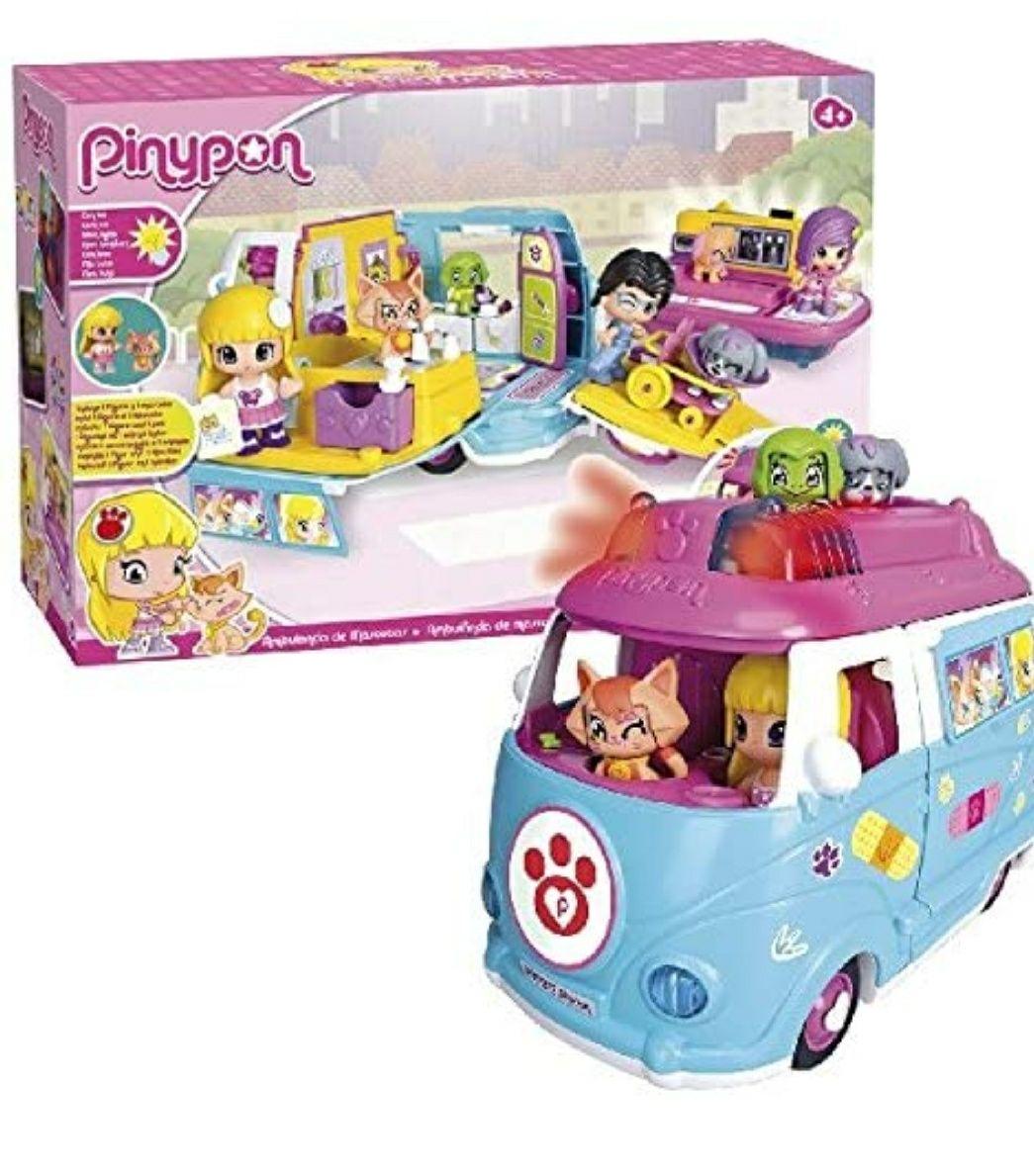 Ambulancia mascotas de pinypon