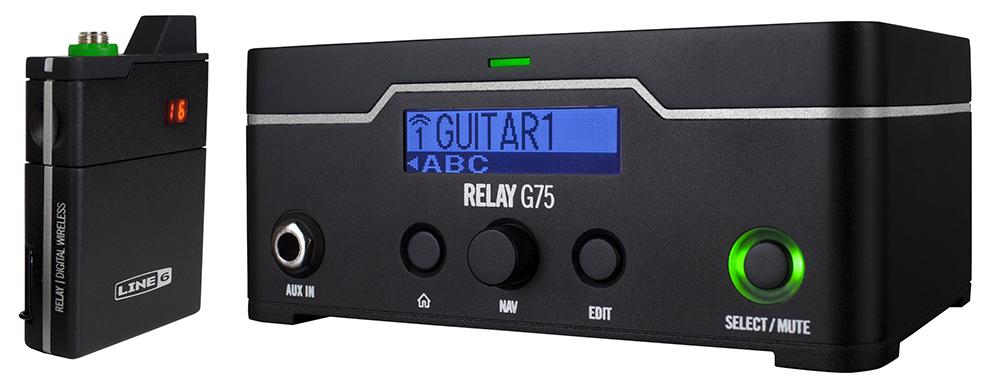 Line 6 G75 Wireless Guitar System (Receptor + Transmisor de bolsillo)
