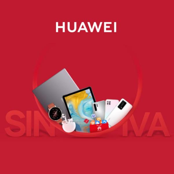 Huawei SIN IVA del 21 al 24 de Junio