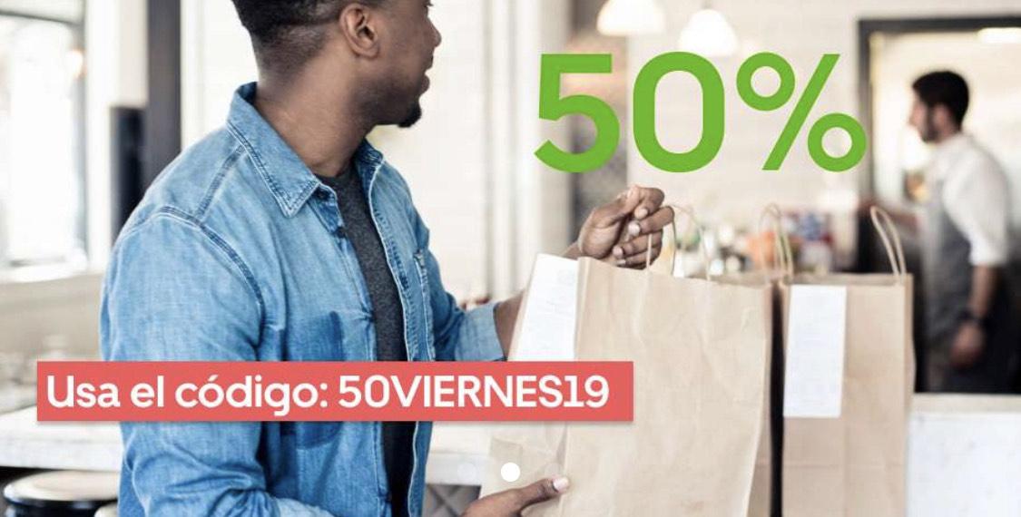 Descuento 50% en Sevilla, Córdoba, Málaga y Granada