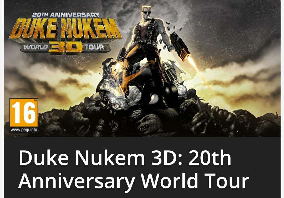Duke Nukem 3D Switch 20 aniversario (precio eShop Sudáfrica)